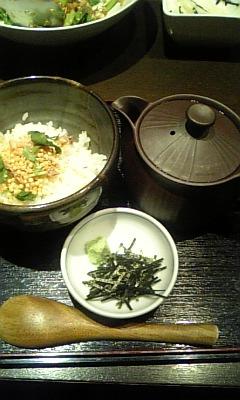 日本人ならお茶漬けやろ!