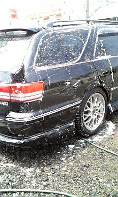 洗車の法則。