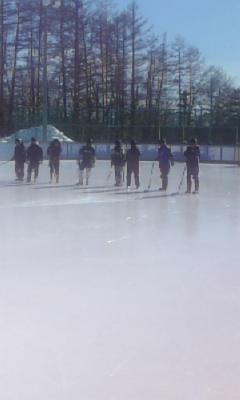 氷上は熱気でムンムン!
