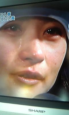 涙は努力の結晶だよ。