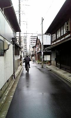 街の風景。
